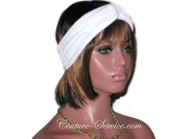 Black, White, Navy, or Tan Handmade Bandeau Headband Turban